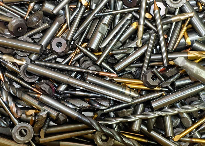 Bioleaching: Metallfräser, der recycelt werde